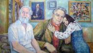 Овчинников А. И. и Кузнецов В.Н. с дочерью.