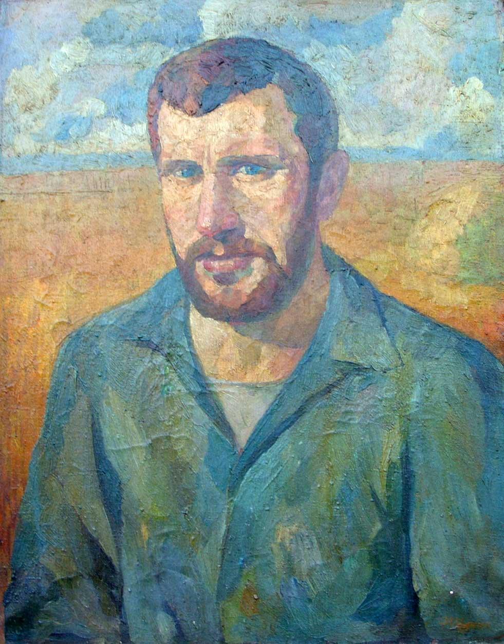 Хлебороб (портрет Карпова)