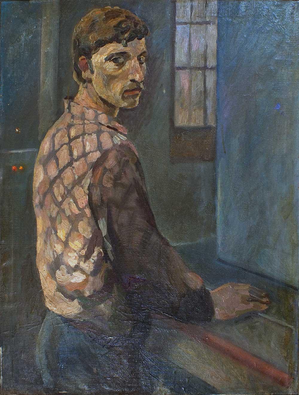 Молодой рабочий. Завод Гидропресс