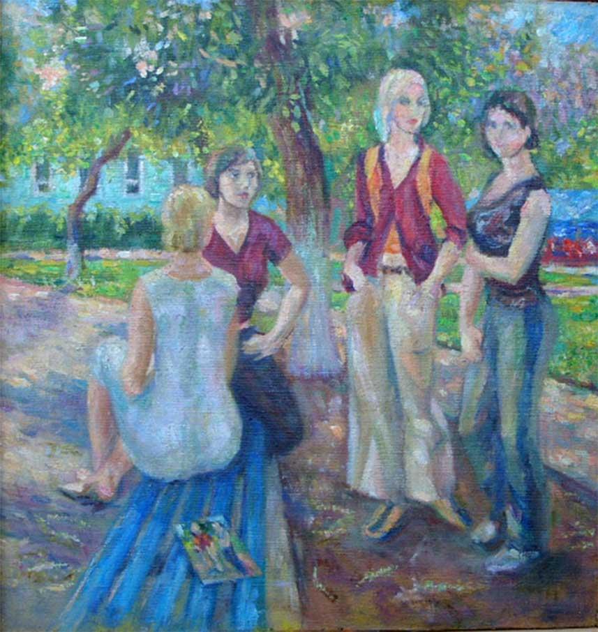 Этюды из Ленинского сада