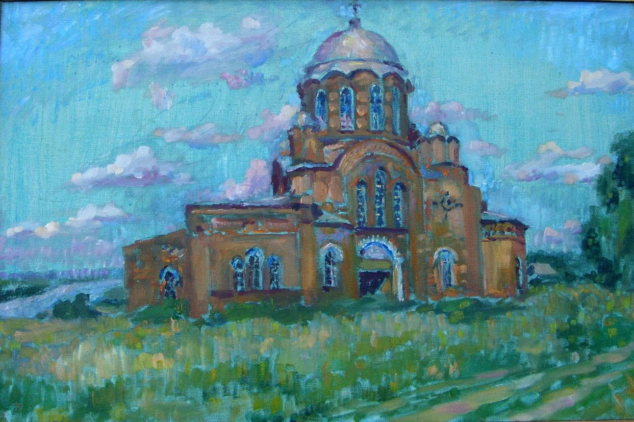 Храм в Ядрине.
