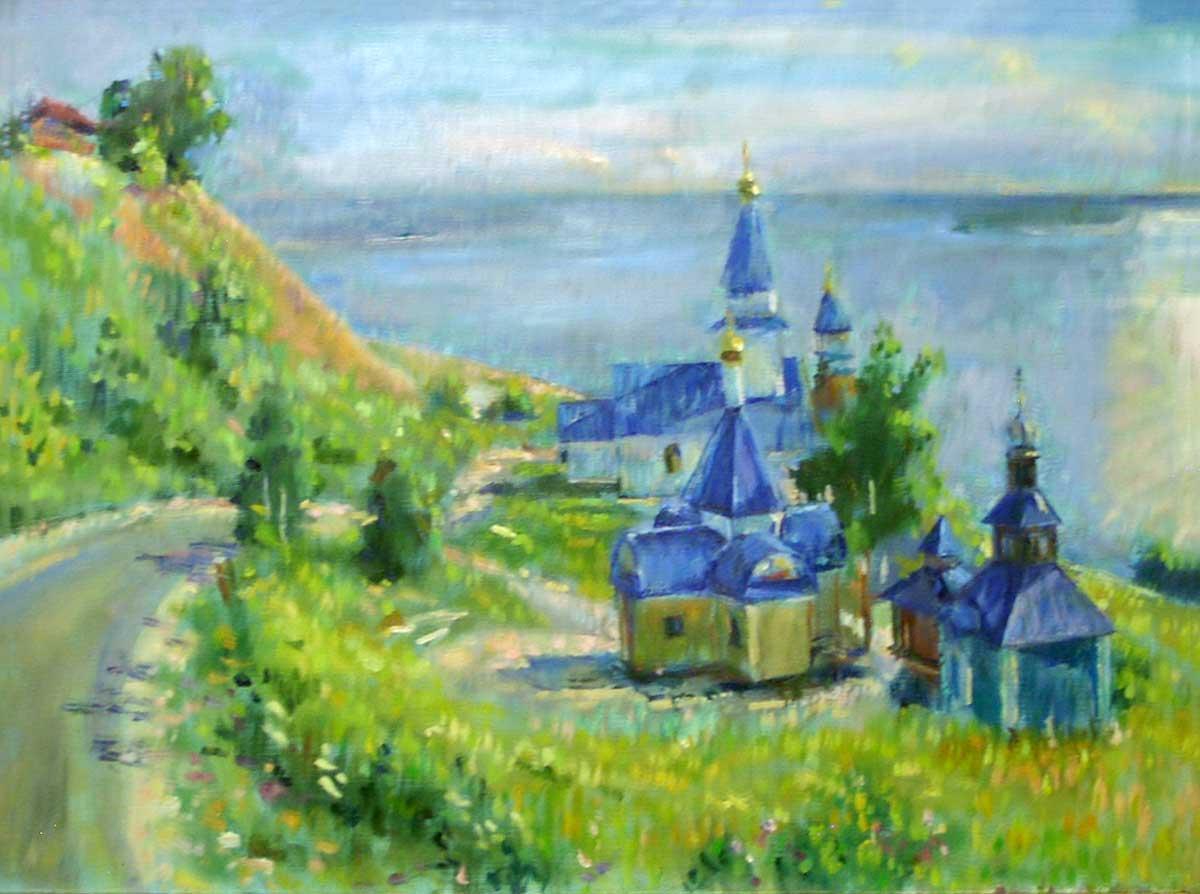 Сызрань. Мужской монастырь.