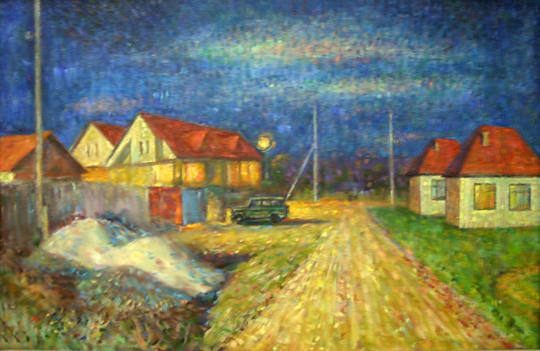Ночь в Раде.
